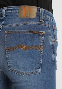 Nudie Jeans - HIGHTOP TILDE - Jeansy Skinny Fit - blue stellar - 5