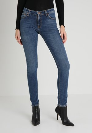 LIN - Jeansy Skinny Fit - mid authentic power