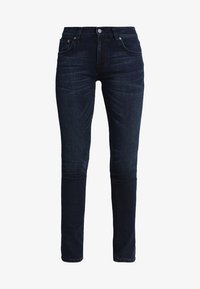 Nudie Jeans - TIGHT TERRY - Jeansy Slim Fit - worn indigo - 4