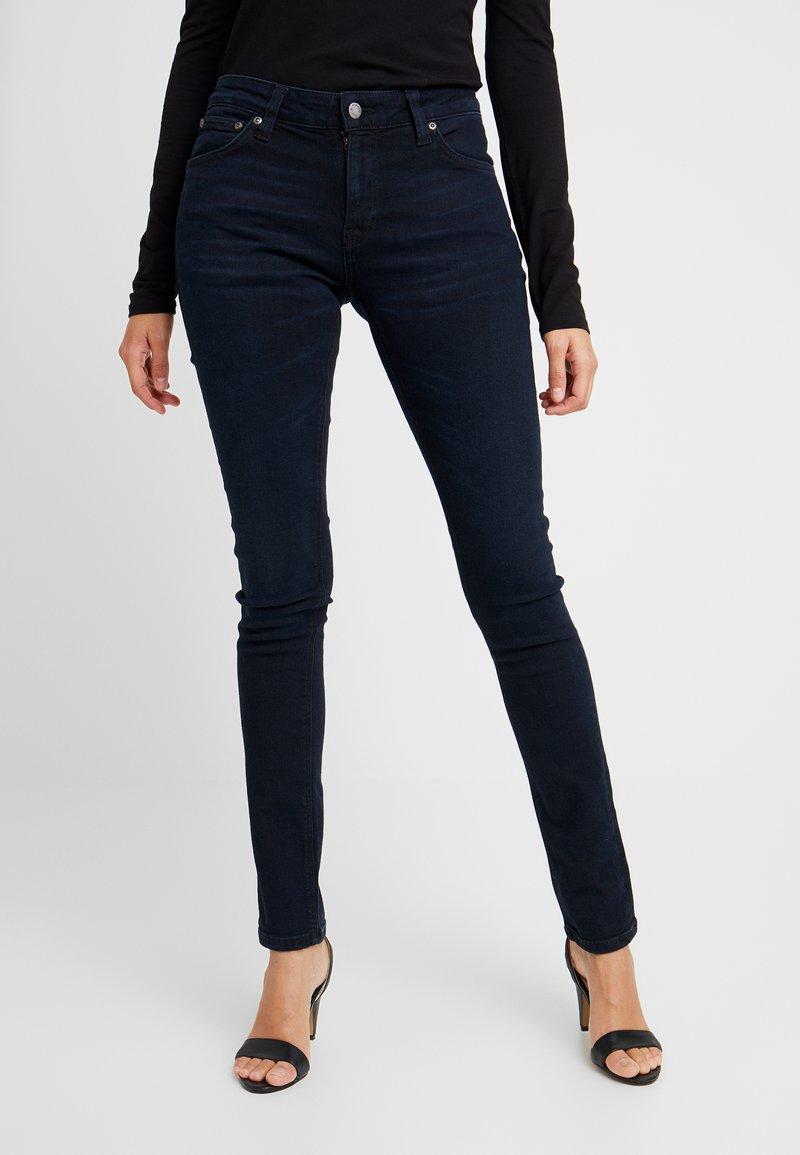 Nudie Jeans - LIN - Jeans Skinny Fit - mali blue