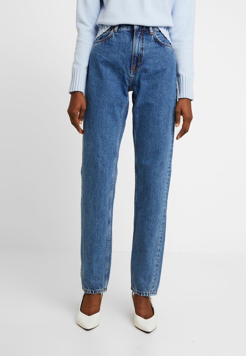 Nudie Jeans - BREEZY BRITT - Straight leg -farkut - friendly blue