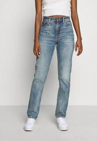 Nudie Jeans - BREEZY BRITT - Straight leg -farkut - springtime - 0