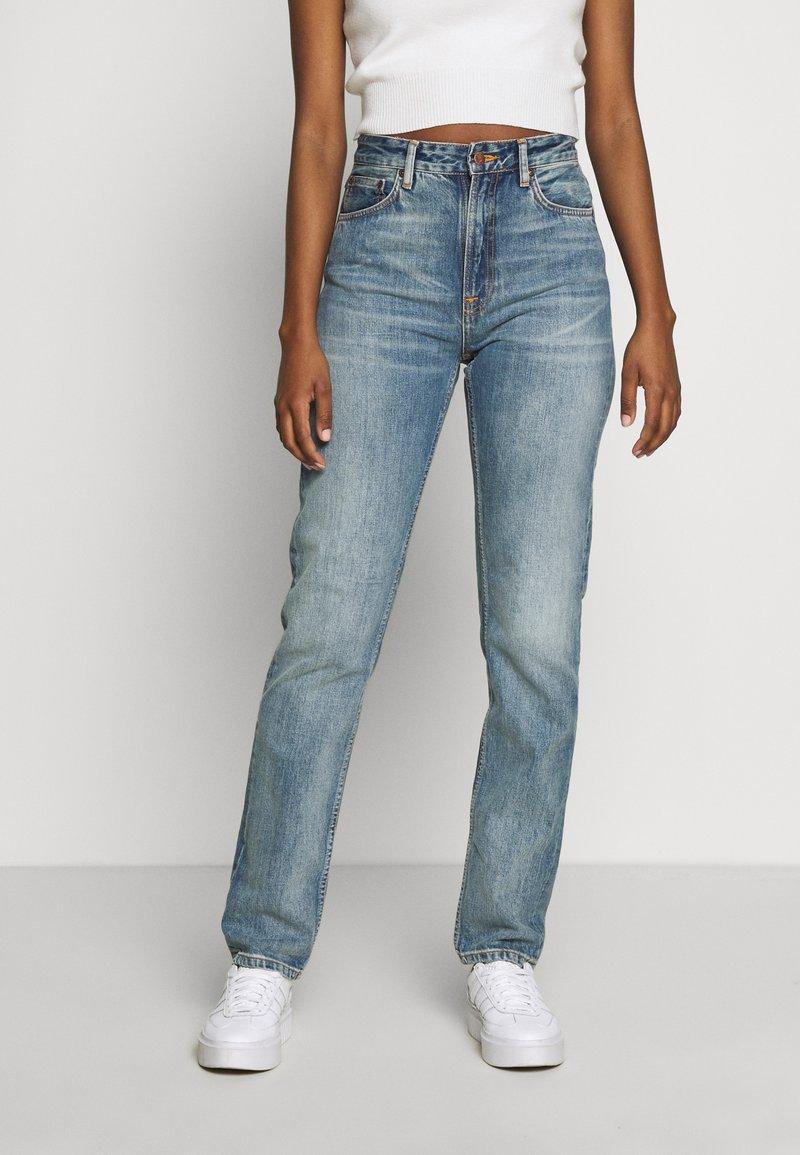 Nudie Jeans - BREEZY BRITT - Straight leg -farkut - springtime
