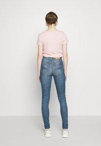 Nudie Jeans - HIGHTOP TILDE - Skinny džíny - blue denim - 2