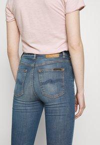 Nudie Jeans - HIGHTOP TILDE - Skinny džíny - blue denim - 5