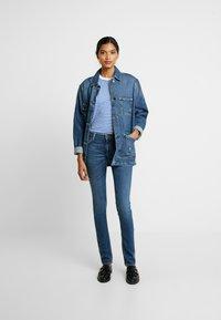 Nudie Jeans - LIN - Skinny-Farkut - dark blue navy - 1