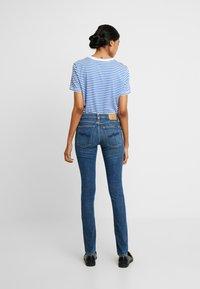 Nudie Jeans - LIN - Skinny-Farkut - dark blue navy - 2