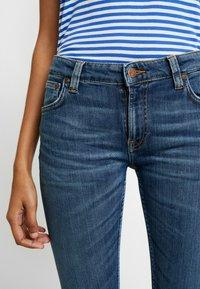 Nudie Jeans - LIN - Skinny-Farkut - dark blue navy - 3