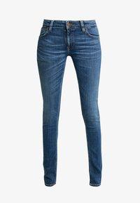 Nudie Jeans - LIN - Skinny-Farkut - dark blue navy - 4