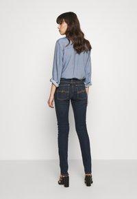 Nudie Jeans - LIN - Skinny-Farkut - stone-blue denim - 2