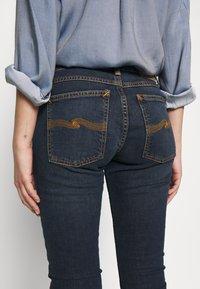 Nudie Jeans - LIN - Skinny-Farkut - stone-blue denim - 5