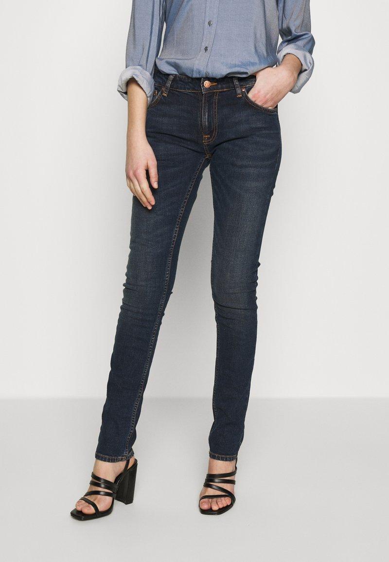 Nudie Jeans - LIN - Skinny-Farkut - stone-blue denim
