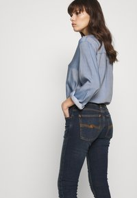 Nudie Jeans - LIN - Skinny-Farkut - stone-blue denim - 3