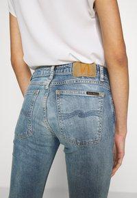 Nudie Jeans - LIN - Skinny-Farkut - indigo victim - 4
