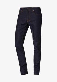 Nudie Jeans - THIN FINN - Slim fit jeans - organic dry ecru embo - 4