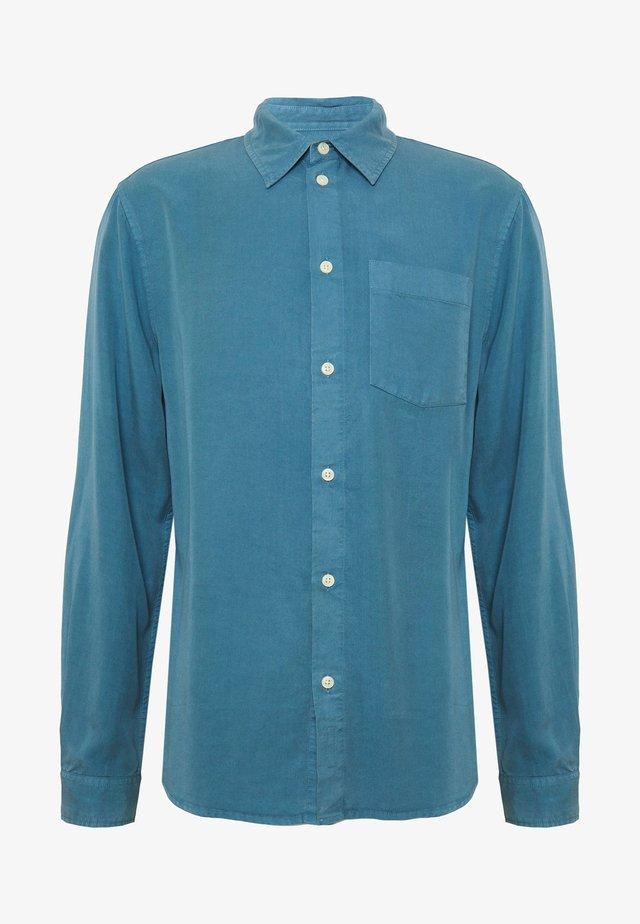 CHUCK - Hemd - petrol blue