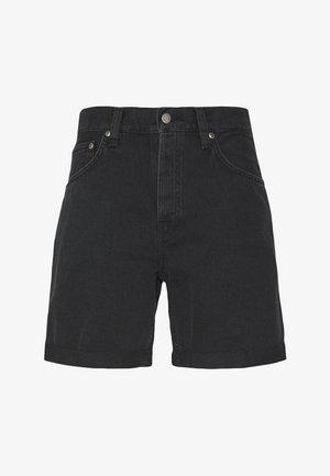 JOSH - Denim shorts - black water