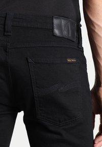Nudie Jeans - SKINNY LIN - Jeans Skinny Fit - black denim - 4