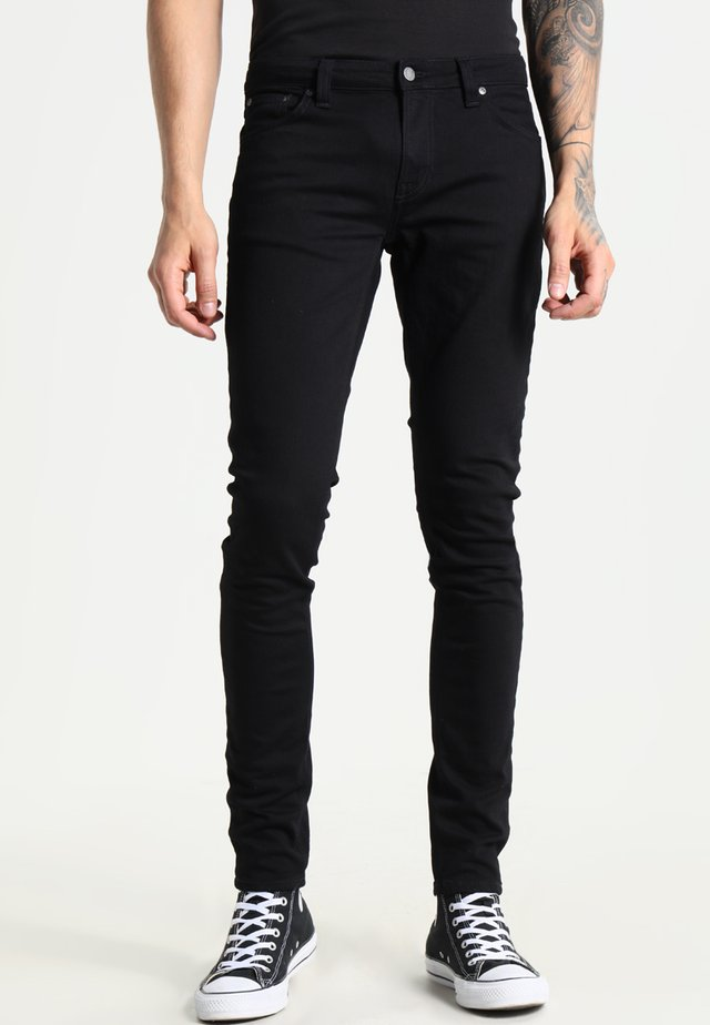 LIN - Jeansy Skinny Fit - black denim