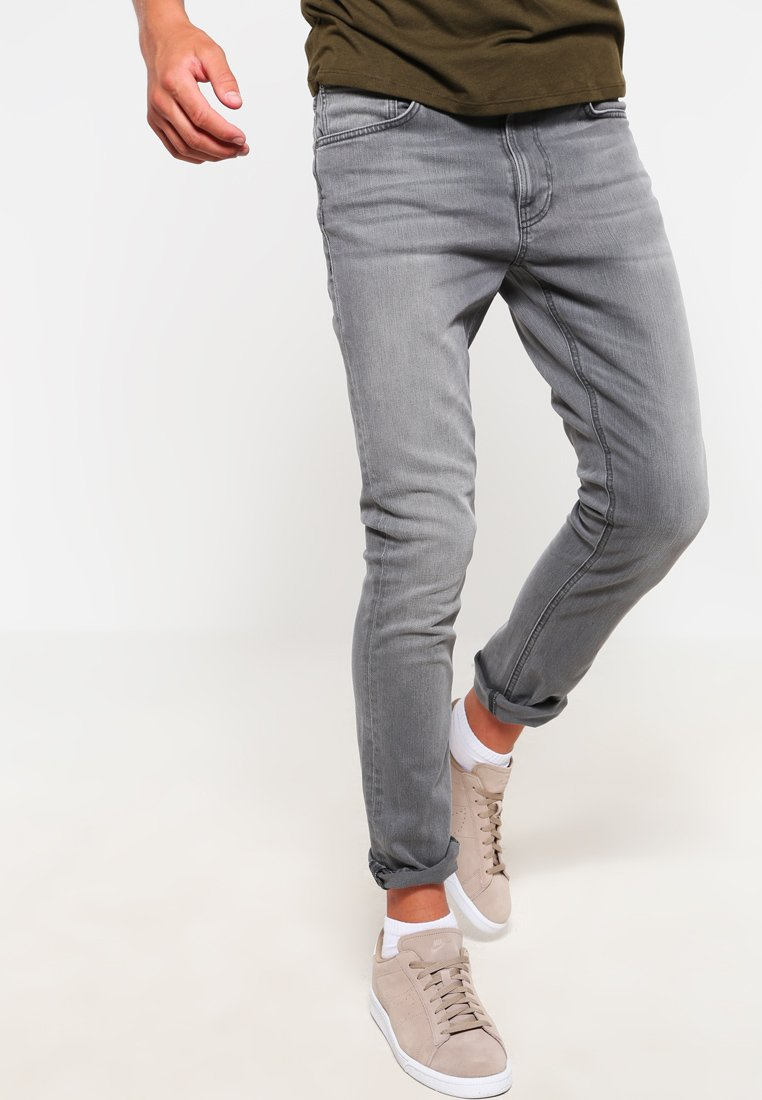 Nudie Jeans - LEAN DEAN - Slim fit jeans - pine grey