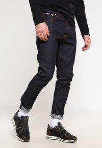 Nudie Jeans - LEAN DEAN - Slim fit jeans - dry japan selvage - 0