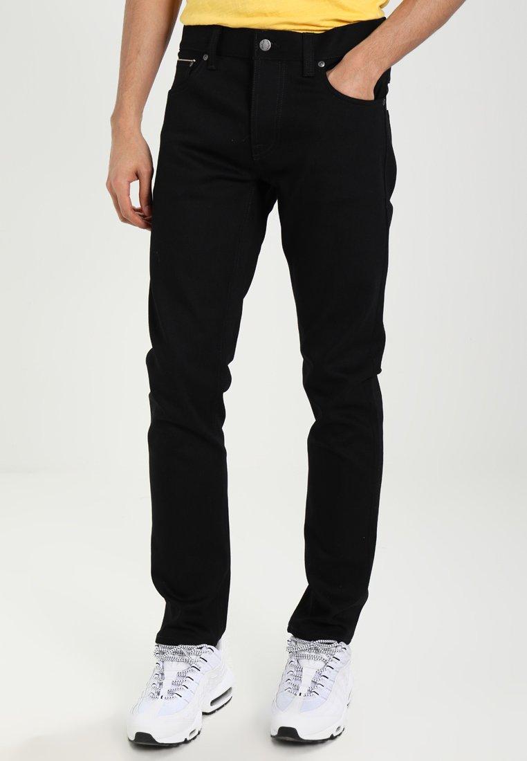 Nudie Jeans - GRIM TIM - Slim fit jeans - dry black