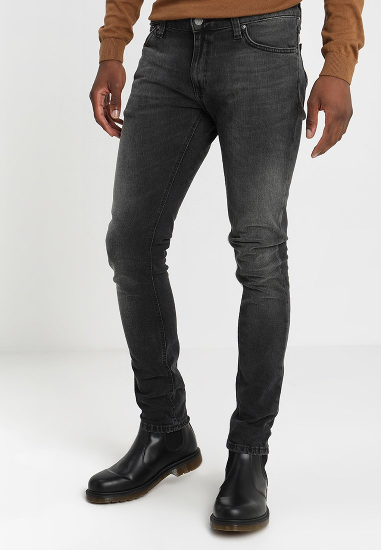 Nudie Jeans - LIN - Jeans Skinny Fit - black movement