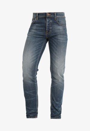 TILTED TOR - Slim fit jeans - bright contrasts