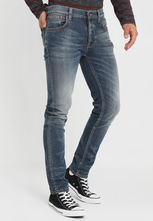 TILTED TOR - Slim fit jeans - bright contrasts
