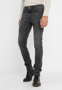 Nudie Jeans - LEAN DEAN - Slim fit jeans - mono grey - 0