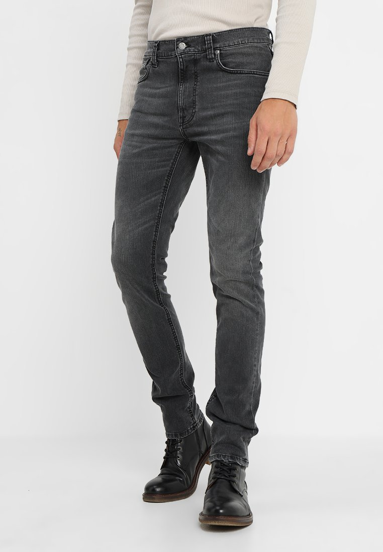 Nudie Jeans - LEAN DEAN - Jeans Slim Fit - mono grey