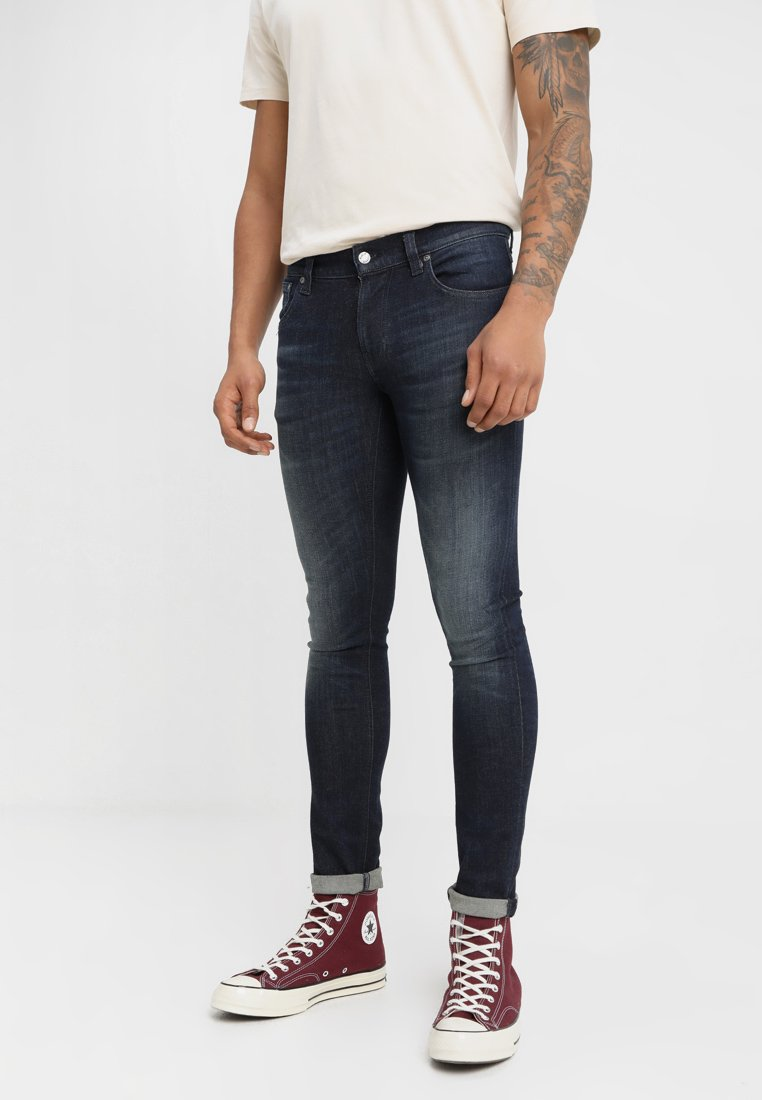 Nudie Jeans - TIGHT TERRY - Jeans Skinny Fit - strong worn