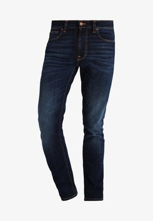LEAN DEAN - Slim fit -farkut - dark deep worn