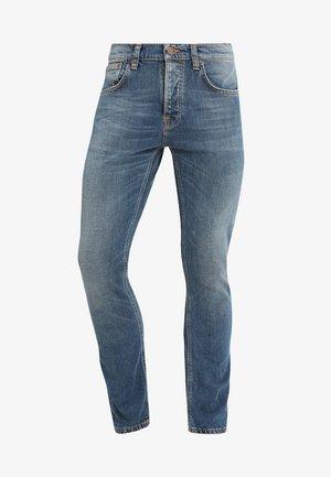 GRIM TIM - Slim fit jeans - mid authentic indigo