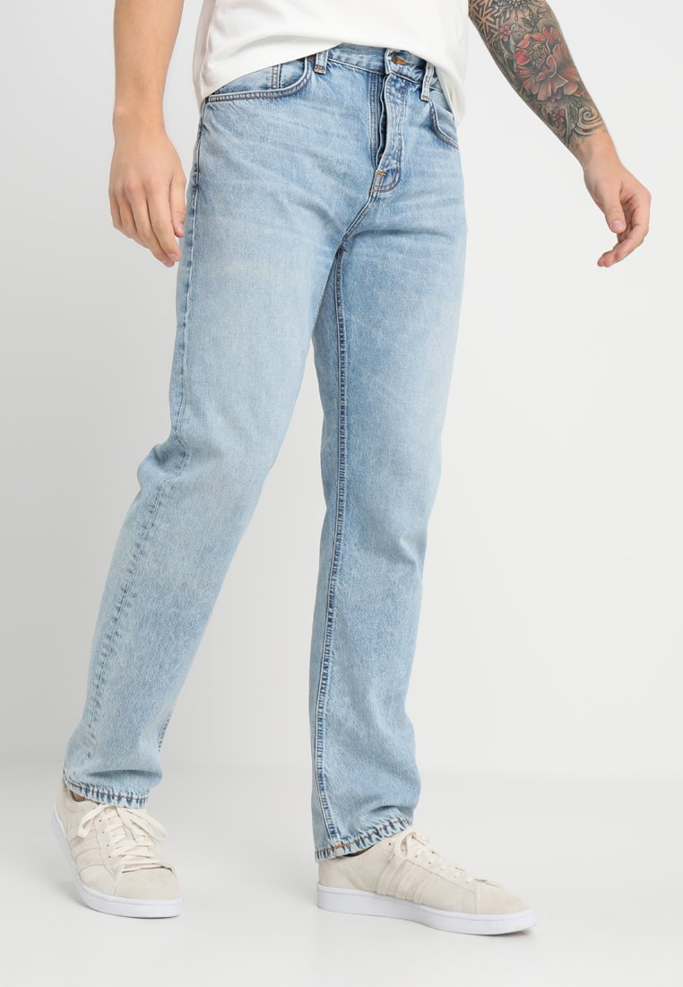 Nudie Jeans - SLEEPY SIXTEN - Vaqueros boyfriend - light stone