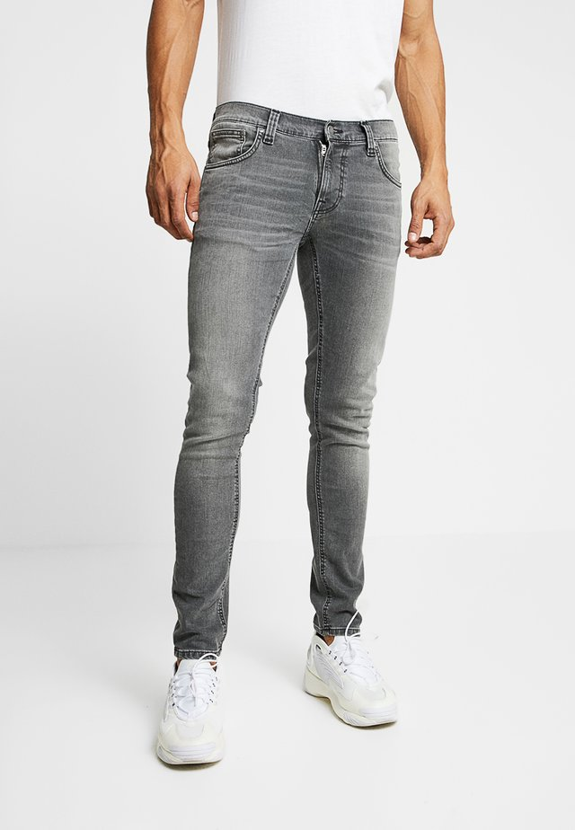 TIGHT TERRY - Skinny džíny - mid grey