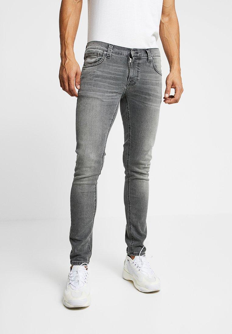 Nudie Jeans - TIGHT TERRY - Vaqueros pitillo - mid grey