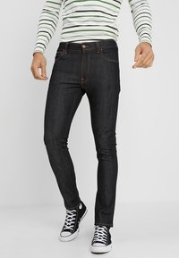 Nudie Jeans - LEAN DEAN - Slim fit jeans - dry tonal ecru - 0