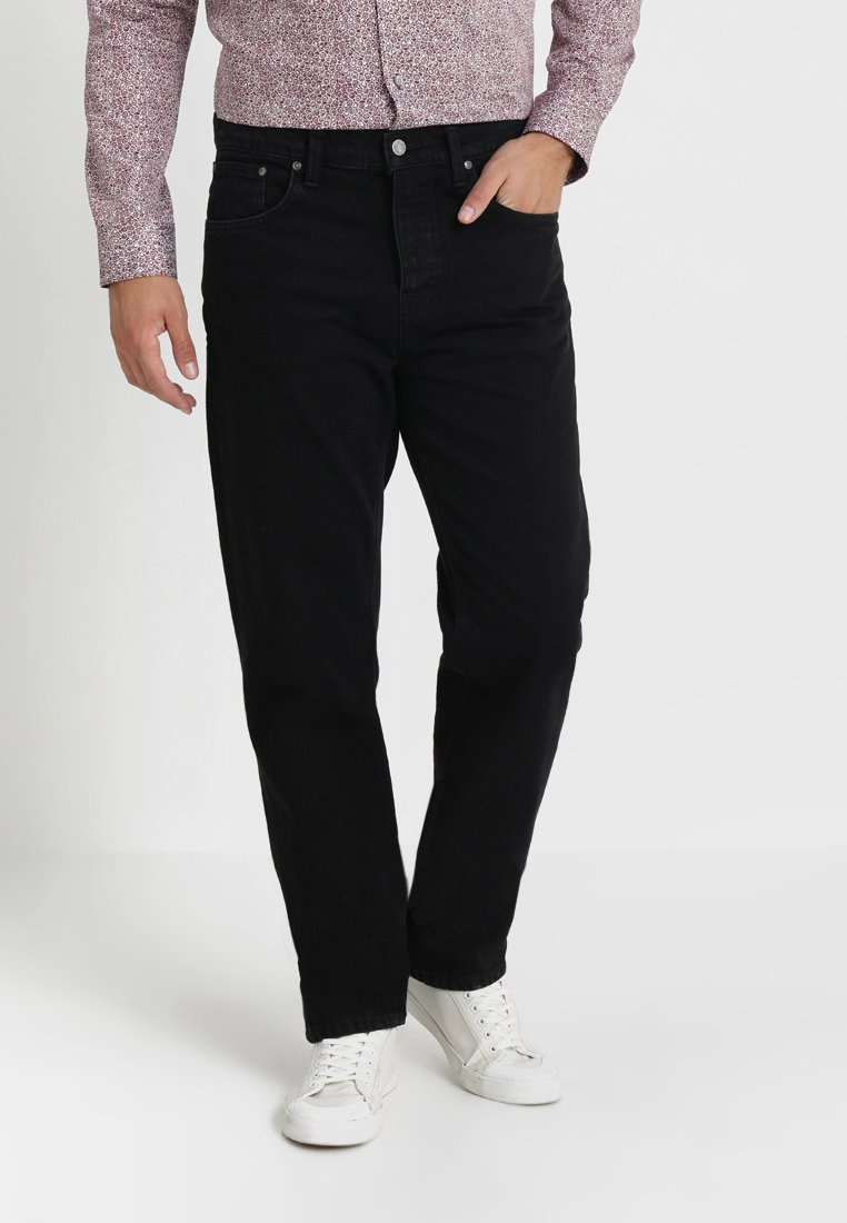 Nudie Jeans - SLEEPY SIXTEN - Jeans relaxed fit - black stone