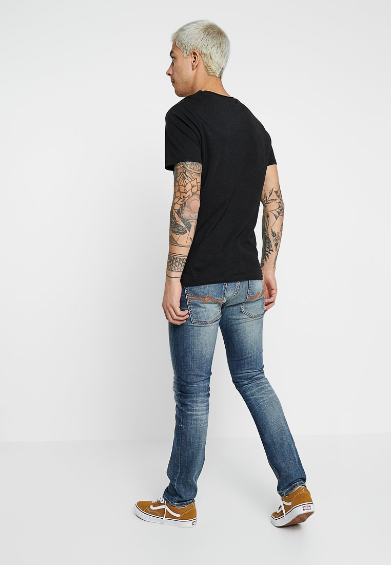 Grim Slim TimJean Broken In Jeans Nudie Worn TFc1lJ3K