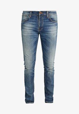 GRIM TIM - Slim fit jeans - worn in broken