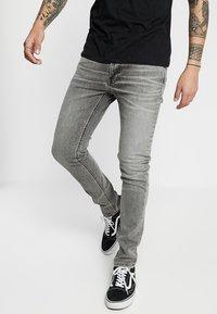 Nudie Jeans - LEAN DEAN - Džíny Slim Fit - vintage grey - 0