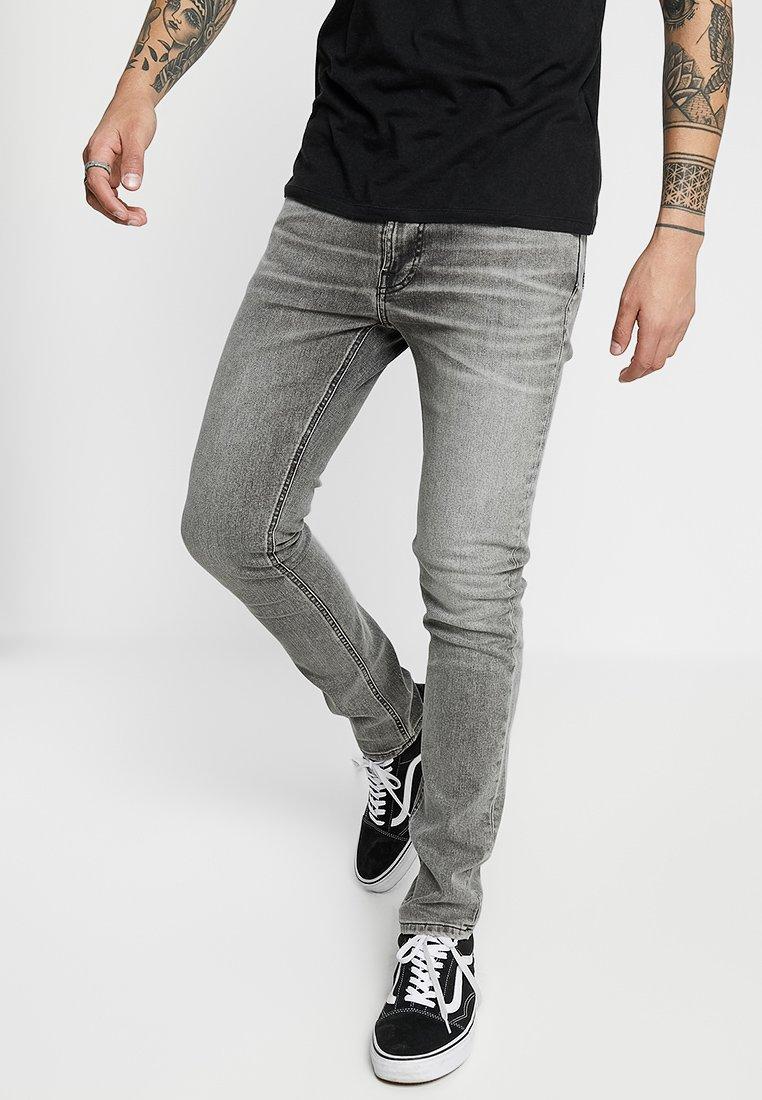 Nudie Jeans - LEAN DEAN - Džíny Slim Fit - vintage grey