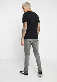 Nudie Jeans - LEAN DEAN - Džíny Slim Fit - vintage grey - 2