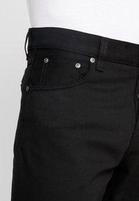 Nudie Jeans - STEADY EDDIE  - Straight leg -farkut - black denim - 5
