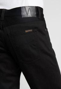 Nudie Jeans - STEADY EDDIE  - Straight leg -farkut - black denim - 3