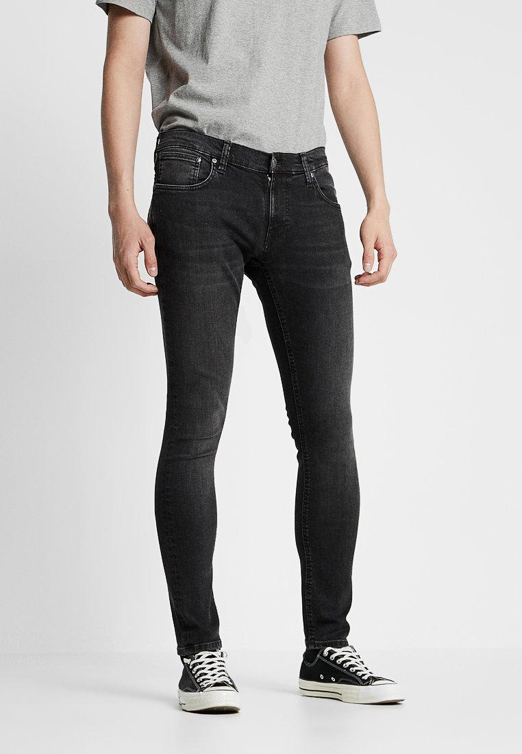 Nudie Jeans - TIGHT TERRY - Jeans Skinny Fit - black treats