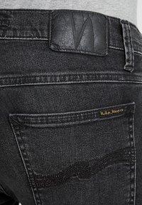 Nudie Jeans - TIGHT TERRY - Jeans Skinny Fit - black treats - 5