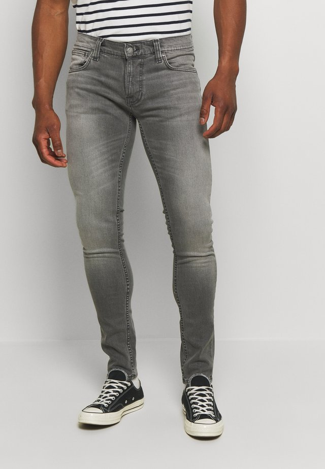 TIGHT TERRY - Jeansy Skinny Fit - pine grey