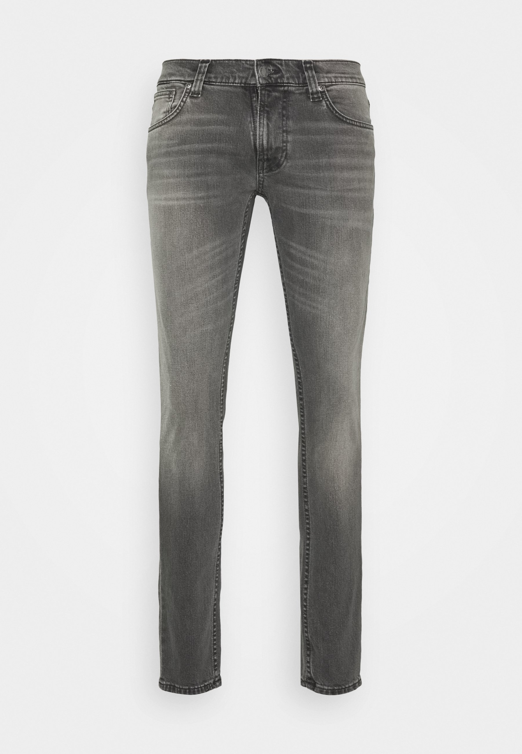 Nudie Jeans TIGHT TERRY - Jeansy Skinny Fit - pine grey